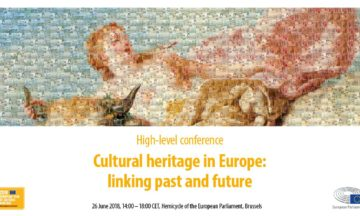 "High-level European Parliament Conference ""Cultural heritage in Europe: linking past and future"""