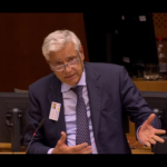 "Discourse of prof. Luigi Fusco Girard at the High-level European Parliament Conference ""Cultural heritage in Europe: linking past and future"""
