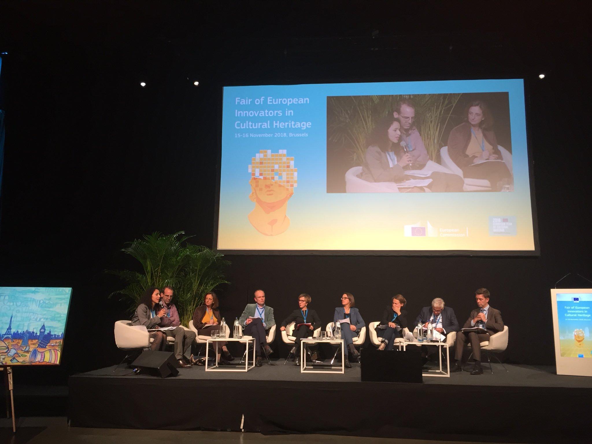 Fair of European Innovators in Cultural  Heritage