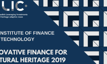 Symposium Innovative Finance for Cultural Heritage 2019