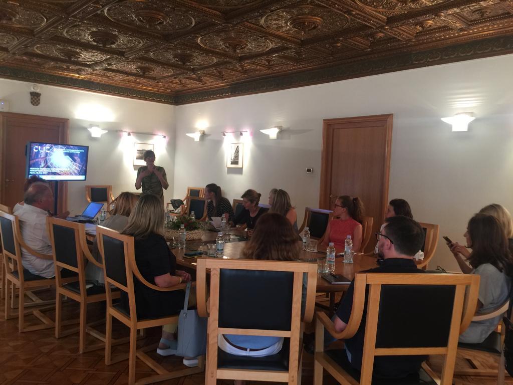 Mid-Presentation for City representatives of Rijeka