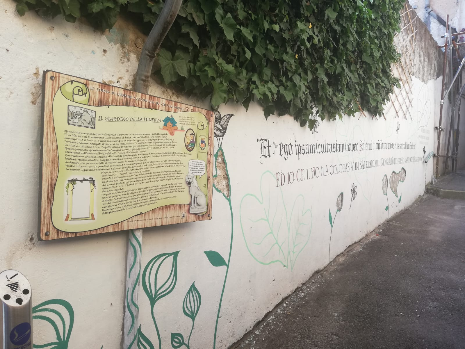 The Giardino della Minerva: cultural and natural capital regeneration in Salerno, Italy