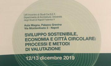 """Participation of CLIC project to the Ce.S.E.T. Conference """"Sviluppo sostenibile, economia circolare. Processi e metodi di valutazione"""