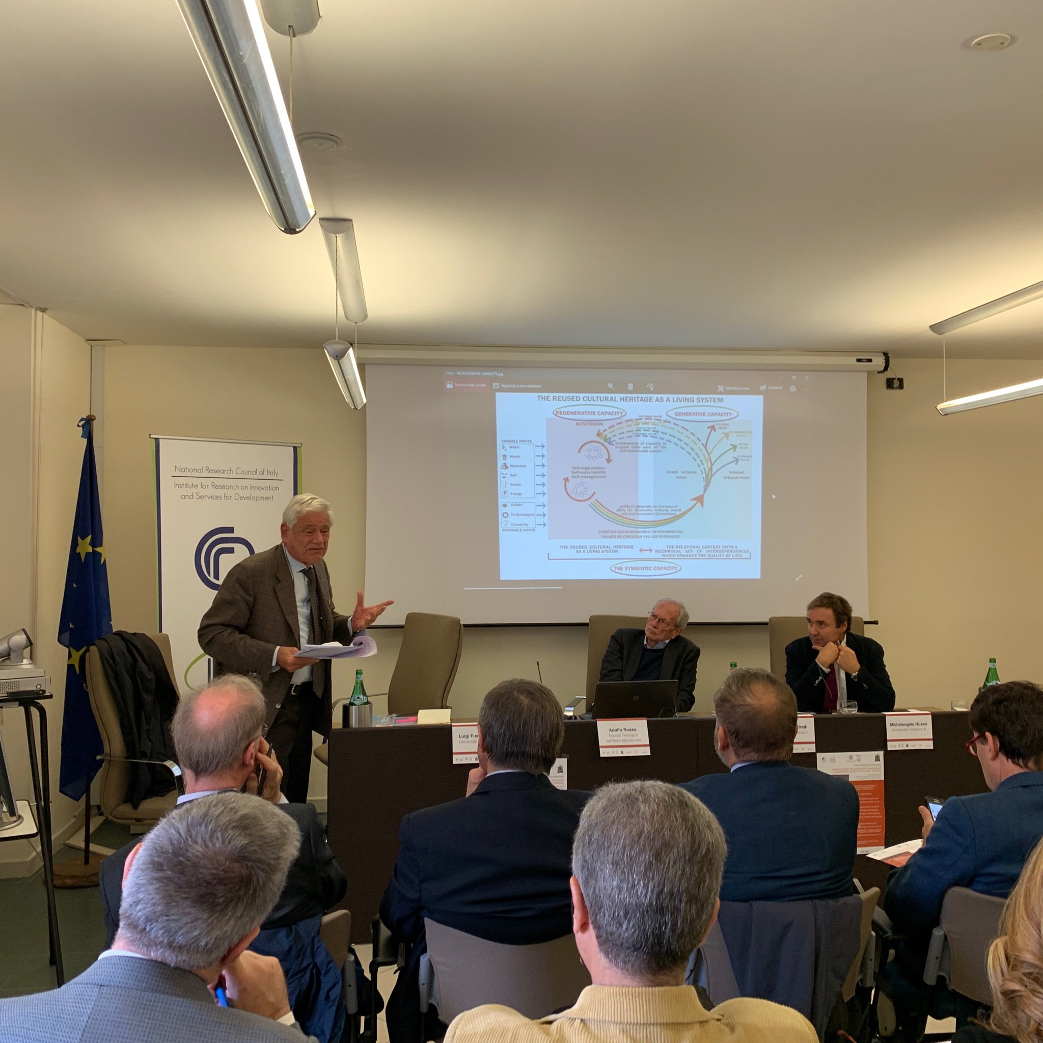 """Participation of CLIC project to the International Conference """"Adaptive Re-use and Integrated Management of Disused Religious Cultural Heritage"""""""