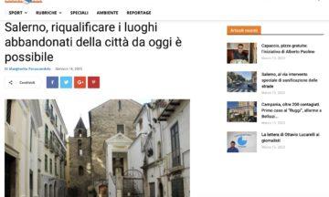 Salerno, riqualificare i luoghi abbandonati della città da oggi è possibile