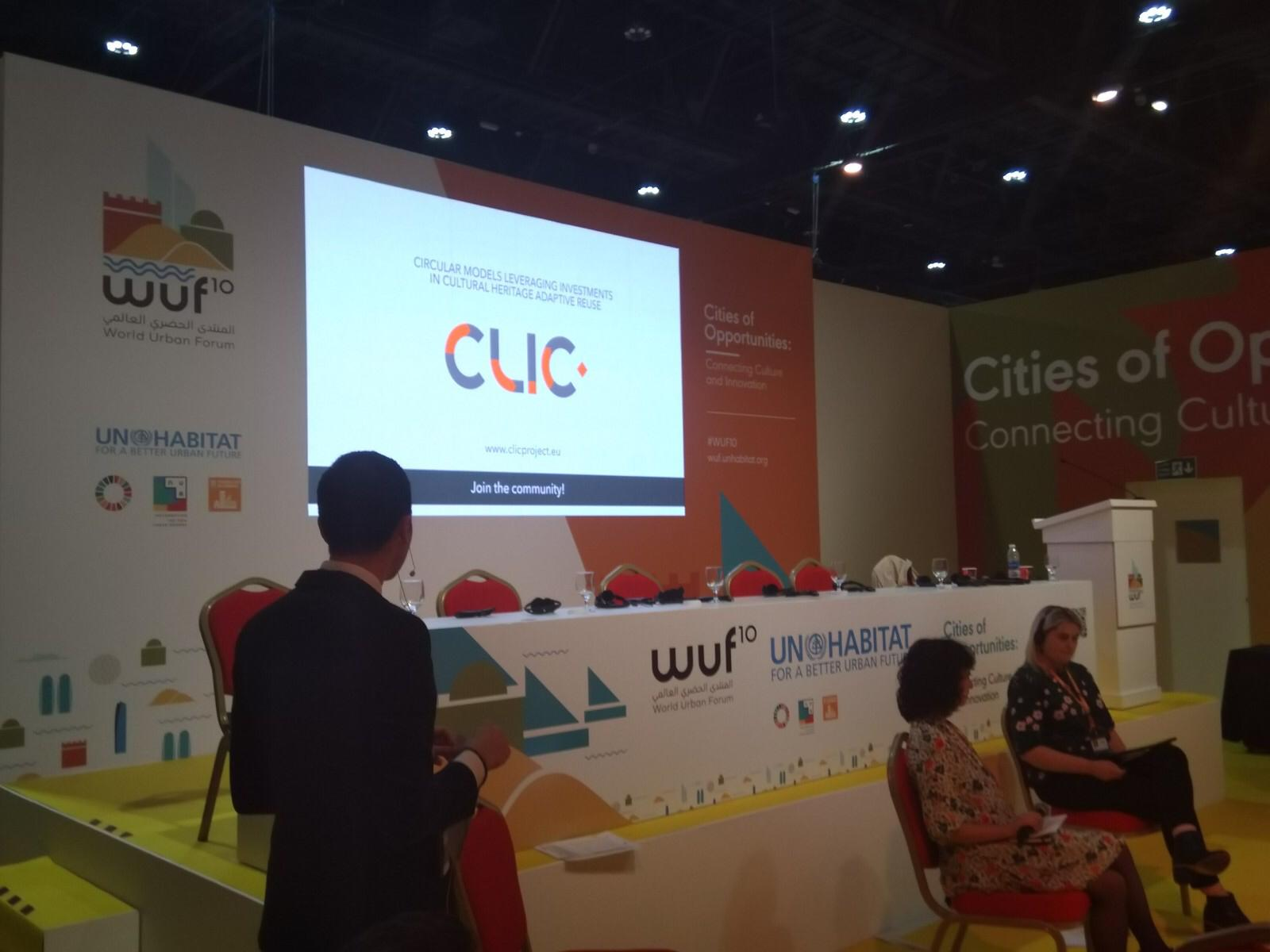 CLIC at the World Urban Forum
