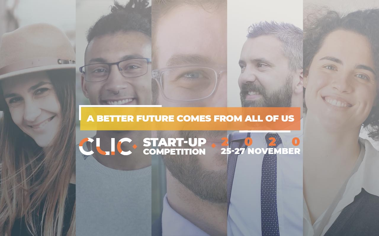 Application to the CLIC Startup Competition open! Submit your idea