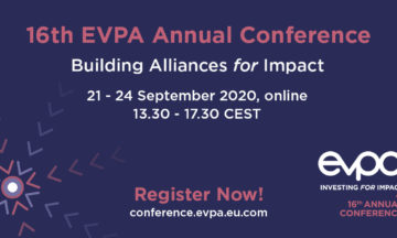 #EVPA20 Building Alliances for Impact 21-24 September 2020