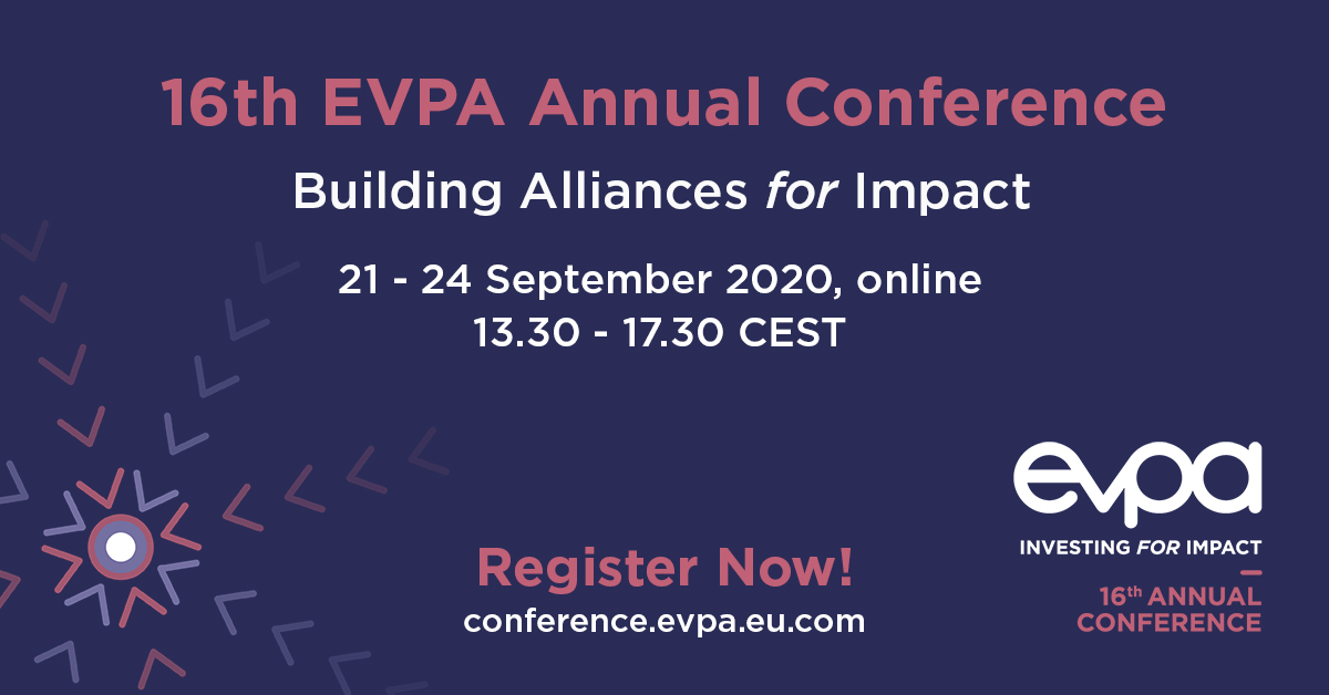 #EVPA20 Building Alliances for Impact 21-24 September 2020