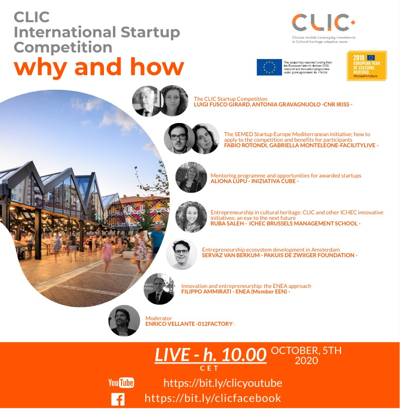 CLIC Startup Competition online event: why and how to participate