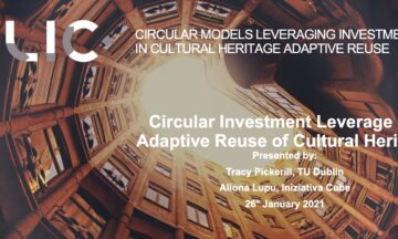 Workshop on complementary sources of funding for cultural heritage