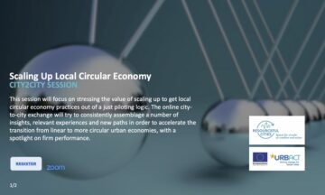 "CLIC Participation at URBACT Resourceful Cities programme – City2City session on ""Scaling up the local circular economy"""