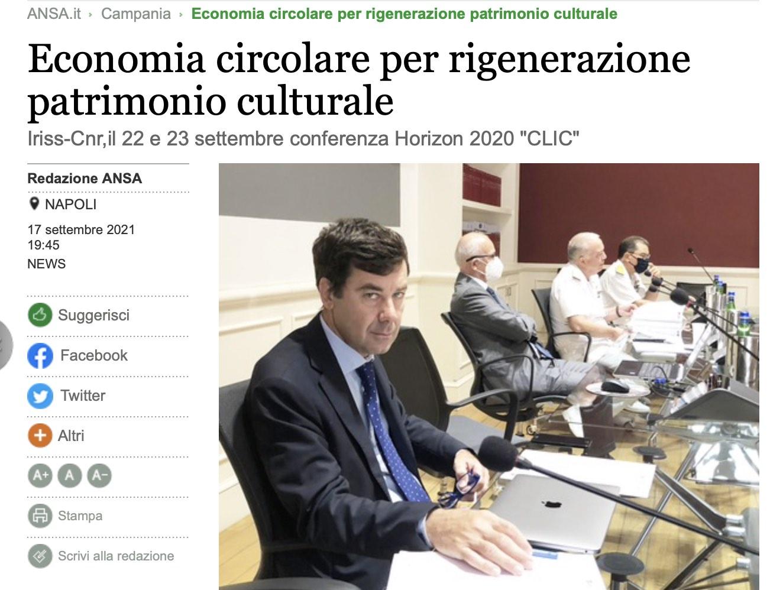 Economia circolare per rigenerazione patrimonio culturale